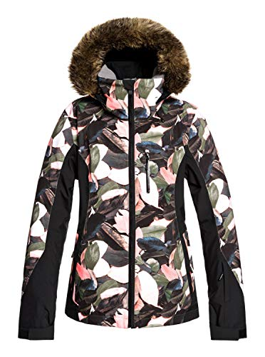 Roxy Damen Snow Jacke Jet Ski - Snow Jacke, living coral plumes, L, ERJTJ03218