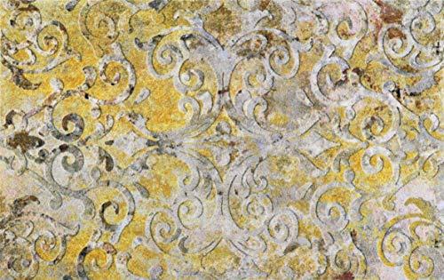 Wash + dry Decor dywan, nylon, żółty, 110/175