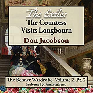 The Exile: The Countess Visits Longbourn  audiobook cover art