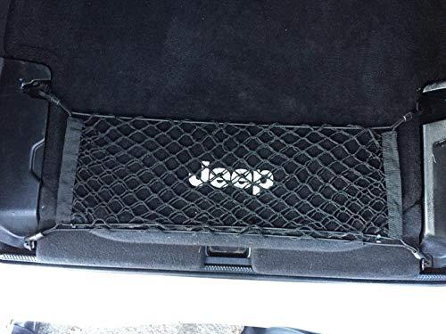 Floor Trunk Cargo Net for Jeep Wrangler Rubicon Sahara JL Unlimited 2 Door Only 2007-2021
