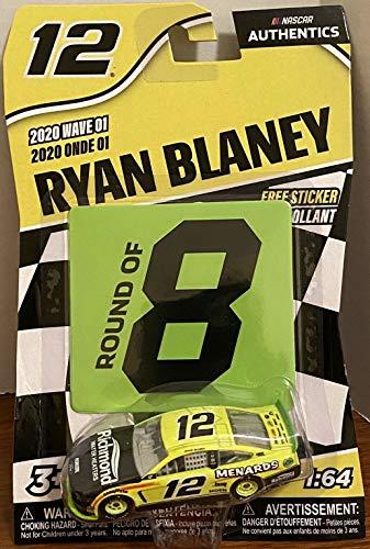 kings dugout 1:64 Ryan Blaney #12 Menards Richmond Playoff Die-cast NASCAR 2020 Wave 1