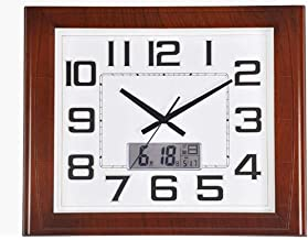 Motional Wall Clock With Plastic Silent Dial