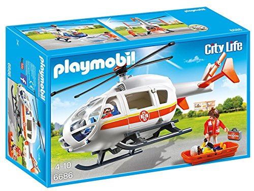 Playmobil Emergency Medical Helicopter 6686