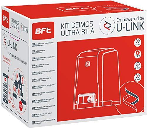 BFT - Kit de puerta corredera automática Deimos Motor A600 24 V 600...