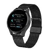 Bestbuy_2018 Relojes Inteligentes, Rastreador de Actividad, Monitor de Ritmo cardíaco, Reloj y Monitor de sueño Pulsera Inteligente de calorías Compatible con Bluetooth/Android/iOS
