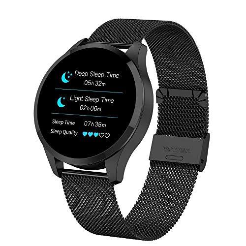 Bestbuy_2018 Smart Watches, Aktivitätstracker mit Männer Frauen Pulsmesser, Uhr und Schlaf Monitor Kalorien Smart Bracelet Kompatibel mit Bluetooth/Android/IOS
