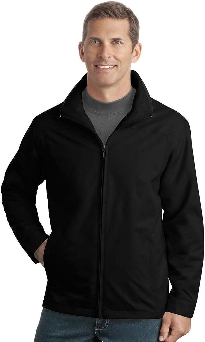 Port Authority Men's Casual Style Successor Zippered Jacket_Black_XXX-Large