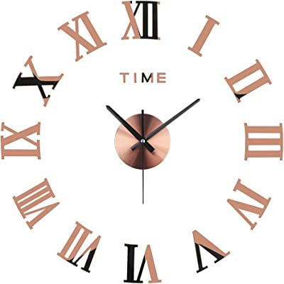 Minimalistic clock diameter 60cm min big giant style needles diy