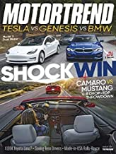 Motor Trend Magazine August 2019 Tesla vs. Genesis vs. BMW Shocking Win