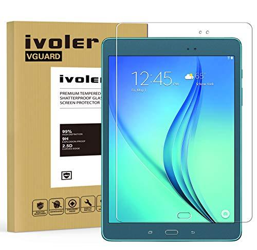 ivoler Protector de Pantalla para Samsung Galaxy Tab A 9.7 Pulgadas (T550...