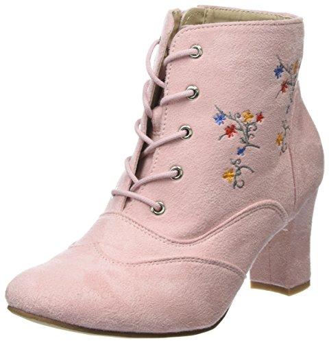 HIRSCHKOGEL Damen 3005722 Stiefeletten, Pink (Rosa 022), 38 EU