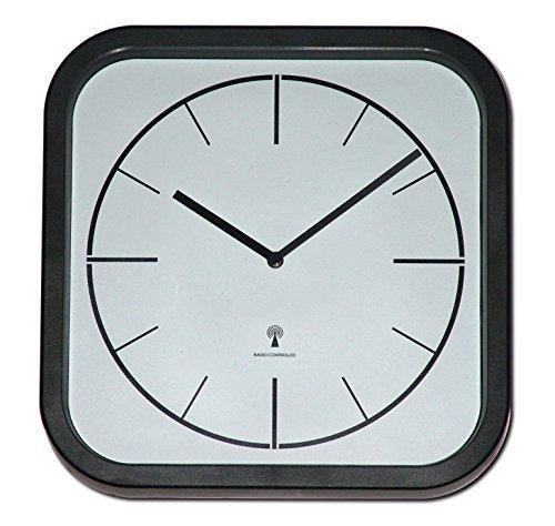 Lexor Funkwanduhr Funkuhr Analog Wanduhr Uhr inkl. Batterie Atomuhr N.04 Uhren