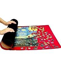 ファインアートパズル風景油絵300/500/1000ピースアダルトボール紙ジグソーパーズ、DIYクリエイティブおもちゃ楽しい家族ゲームAH22 QW store (Color : Puzzle mat, Size : 300PC)
