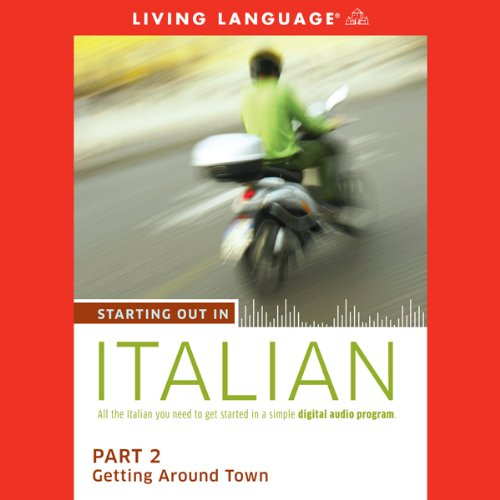 Starting Out in Italian, Part 2 audiobook cover art
