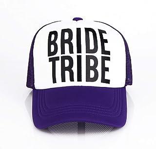 MKJNBH Tribe Hats Women Wedding Preparewear Caps White Neon Summer Women Mesh Base Ballcap