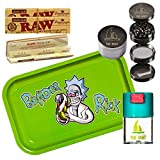 Kit para fumar - Bandeja para liar Rick and Morty Bender Rick 27,5cm x 17,5cm +...
