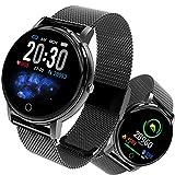 Smartwatch, Fitness Armband Tracker Voller 5ATM Wasserdicht Smart Watch Intelligente Aktivitäts Uhr Sportuhr