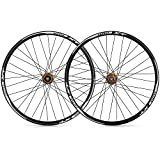 ZFF 26 27,5 29 Pulgadas Bicicleta De Montaña Juego De Ruedas Pared Doble Aleación Aluminio MTB Delantero Trasero Rueda Freno De Disco Liberación Rápida 8 9 10 11 Velocidad Súper Ligero