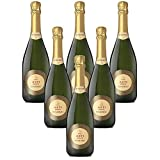 Vino espumoso italiano Asti DOCG San Maurizio Spumante dolce (6 botellas 75 cl.)