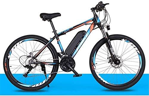 Bicicleta de montaña eléctrica, Montaña de bicicleta eléctrica de 26 pulgadas Bike City, Adulto bicicleta eléctrica con desmontable 36V 8Ah Iones de litio de la batería en tres modos de trabajo, capac