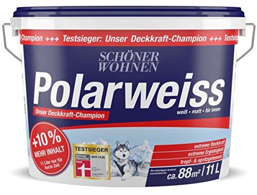 Polarweiss 11 L Wand- Deckenfarbe Innenfarbe Schöner Wohnen