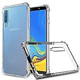 ZeKing Samsung Galaxy A7/A750 (2018) Case Anti-Scratch Crystal...