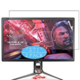 [2 Pack] Synvy Anti Blue Light Screen Protector, Compatible with Asus ROG Swift PG27UQ 27' Display Monitor TPU Film Protectors [Not Tempered Glass]
