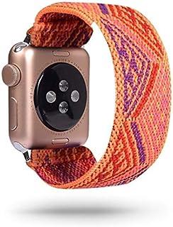 ZAALFC Scrunchie Correa for Reloj de la Banda de Apple 40mm 44mm elástico de Las Mujeres Correa 42mm 38mm Pulsera de la mu...
