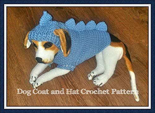 Dragon Dog Sweater and Hat Crochet Pattern (English Edition)