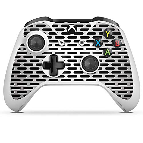 DeinDesign Skin kompatibel mit Microsoft Xbox One S Aufkleber Folie Sticker Blech Metallic Look