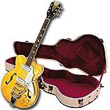 Kay Vintage Reissue K775VB Jazz II Electric Guitar with Bigsby Tremolo, Blonde
