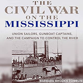 The Civil War on the Mississippi audiobook cover art