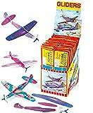 Baker Ross Planeurs en polystyrène (Boîte de 48) - Jouets les pochettes-surprises des enfants