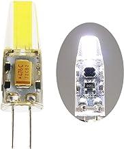 1 stuk 2,5 W G4 COB LED-lampen vervangen 25 W halogeenlampen G4 LED-lampen 210 LM koel wit AC/DC 12 V LED-lamp 6500 K