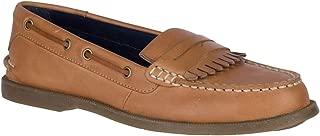 Top-Sider Conway Kiltie Boat Shoe Women 6 Tan