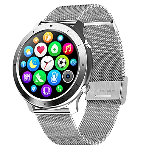 Reloj Inteligente Hombre Gps Incorporado Reloj Inteligente Pulsera Actividad Con PulsóMetro PodóMetro Calorie Monitoreo Del SueñO Impermeable Relojes Inteligentes Para Hombre Mujer Para Android Ios