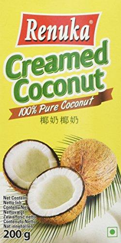 Renuka Crème de Coco 200 g - Lot de 6