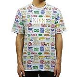 [キス] KITH 正規品 メンズ クルーネック 半袖Tシャツ KITH TREATS CIRCULAR TEE KH3371-109 LIGHT BLUE S 並行輸入品 (コード:4132319525-2) [並行輸入品]