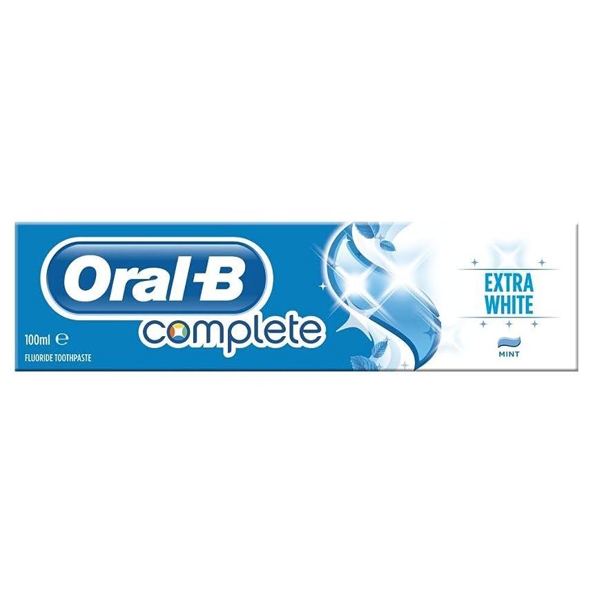 ブロッサム解放する時計回りOral B Complete Extra White Toothpaste (100ml) 経口b完全な余分な白い歯磨き粉( 100ミリリットル) [並行輸入品]