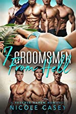 Seven Groomsmen from Hell: A Reverse Harem Romance (Love by Numbers Book 6)