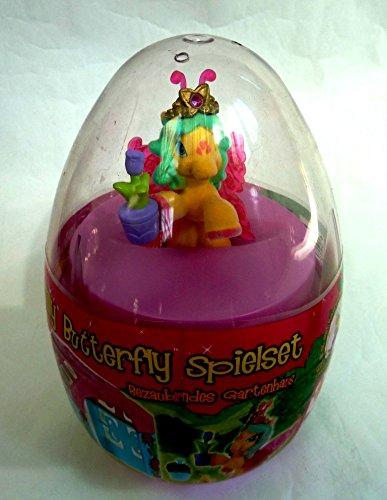 Filly Butterfly Spielset (Mega-Ei), bezauberndes Gartenhaus mit exclusivem Filly Alyssa (mit Blumentopf)