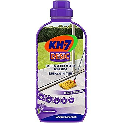 KH-7 | Friegasuelos | Aroma a lavanda | Friegasuelos repelente de hormigas e insectos | Prevención hasta 15 días | Ideal para hogares con animales | Formato único | 2 Unidades