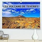 LES VOLCANS DE TENERIFE (Premium, hochwertiger DIN A2 Wandkalender 2022, Kunstdruck in Hochglanz): Volcans, plantes et pins parsèment les coulées de lave. (Calendrier mensuel, 14 Pages )