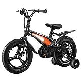 FUFU Bicicleta para niños de 12 a 18 Pulgadas, Marco de Acero de Alto Carbono, Adecuado para niños de 2 a 13 años, con Ruedas auxiliares y paréntesis (Size : 16in)