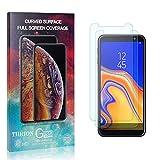 THRION 2 Stück Panzerglas Folie Schutzfolie für Galaxy J4 Core, HD Anti-Kratzen Bildschirmschutzfolie für Samsung Galaxy J4 Core