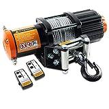 ORCISH 12V 4500lb Electric ATV UTV Synthetic Rope Winch Kits (Steel Cabel Style)