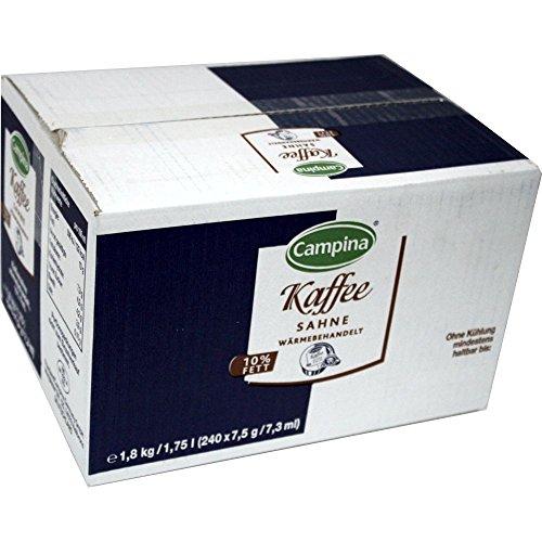 Kaffeesahne Tassenportion 10% 7,5g 240er