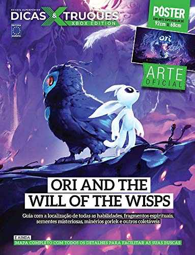 Superpôster Dicas e Truques Xbox Edition - Ori And The Will Of The Wisps