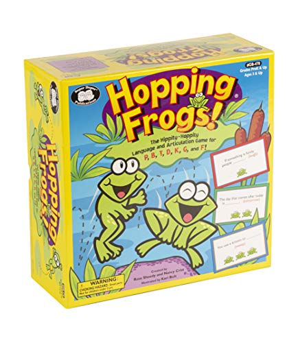 Super Duper Publications Hopping Frogs Vocabulary & Fluency Board Game Educational Learning Resource for Children