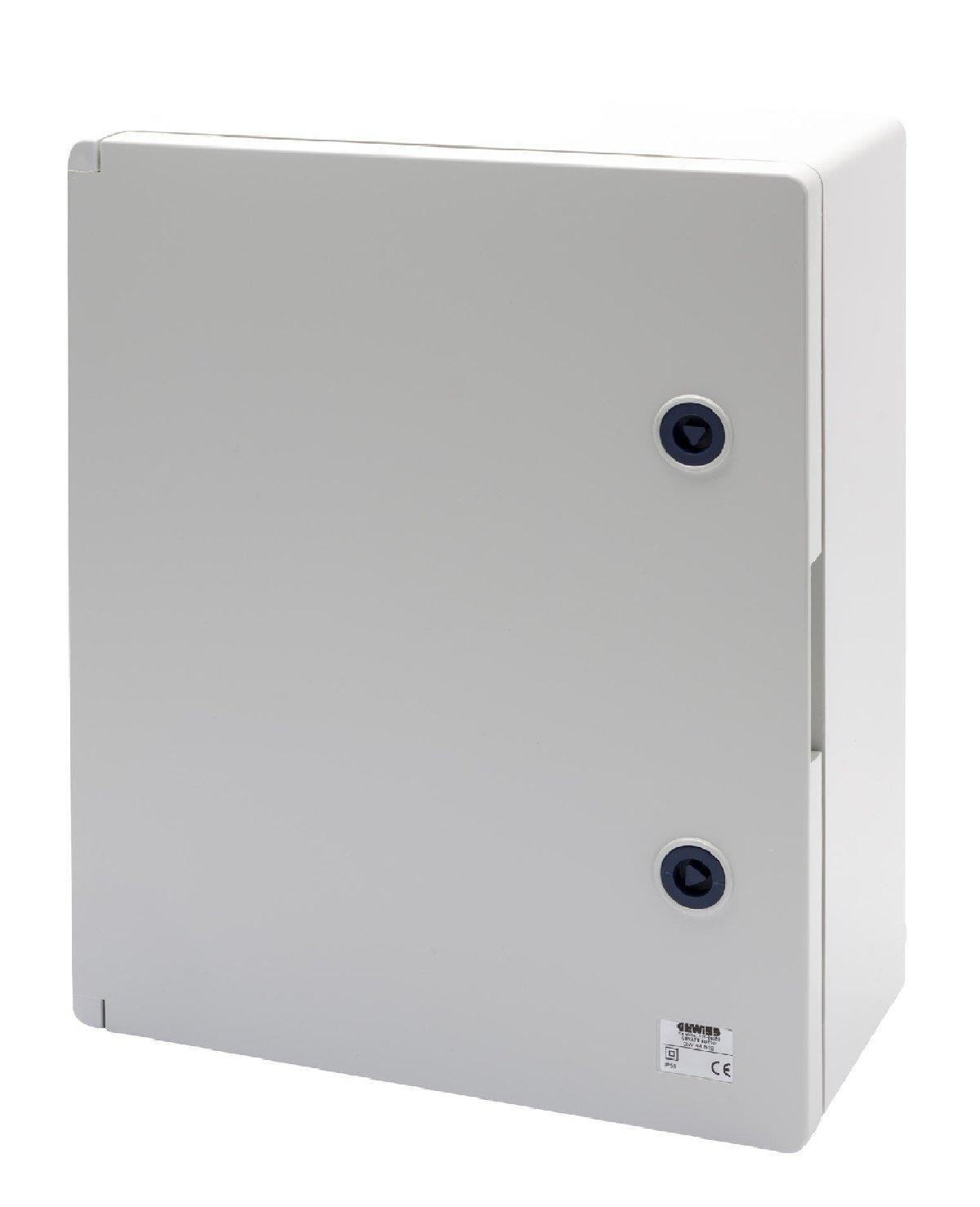 Gewiss GW44811 Metal caja eléctrica - Caja para cuadro eléctrico (396 mm, 160 mm, 474 mm): Amazon.es: Bricolaje y herramientas